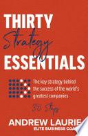 Thirty Essentials: Strategy