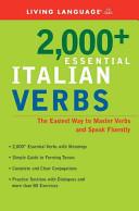 2000  Essential Italian Verbs