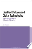 Disabled Children And Digital Technologies Book PDF