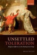 Unsettled Toleration Pdf/ePub eBook