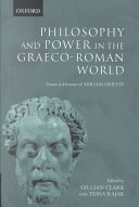 Philosophy and Power in the Graeco Roman World