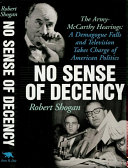 No Sense Of Decency Pdf/ePub eBook