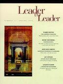 Leader to Leader  LTL   Spring 1999