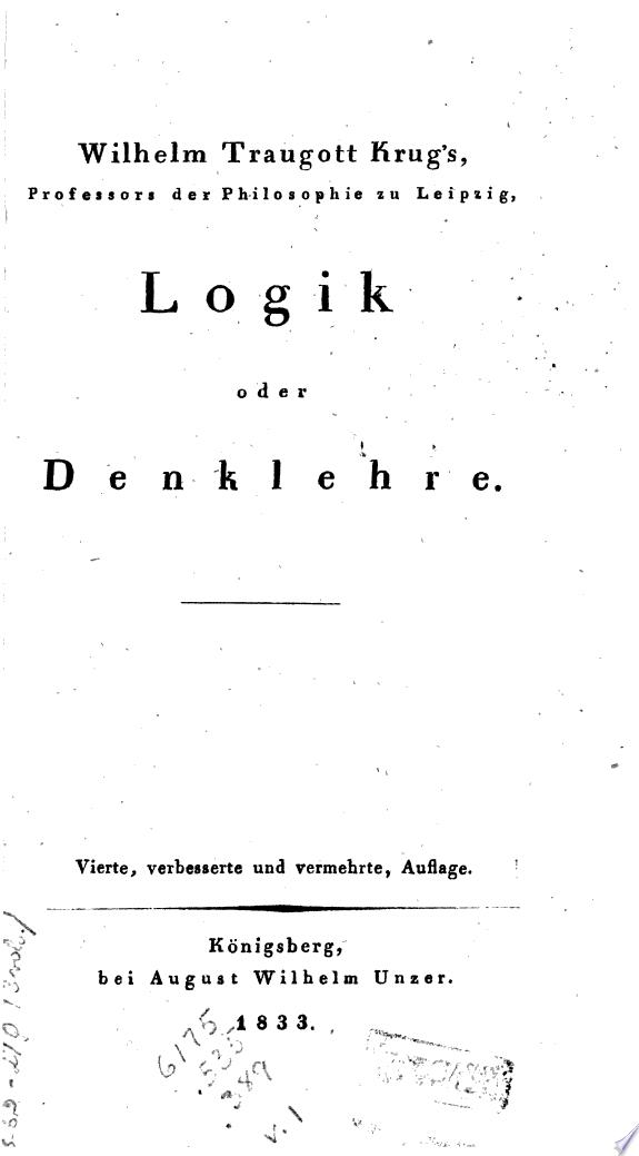 System der theoretischen Philosophi