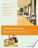 How to Open and Operate a Bed   Breakfast