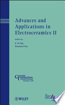 Advances and Applications in Electroceramics II