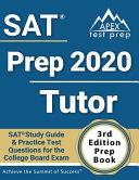 SAT Prep 2020 Tutor Book
