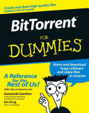 BitTorrent For Dummies Book PDF