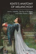 Keats s Anatomy of Melancholy Book