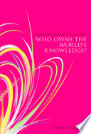 Who Owns The World S Knowledge