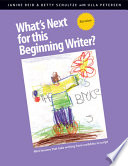 What s Next for this Beginning Writer  Revision