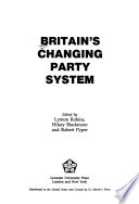 Britain's Changing Party System