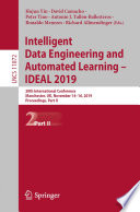 Intelligent Data Engineering and Automated Learning – IDEAL 2019