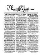 The Registrar