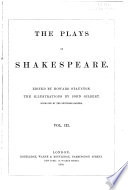 The plays of Shakespeare, Plays