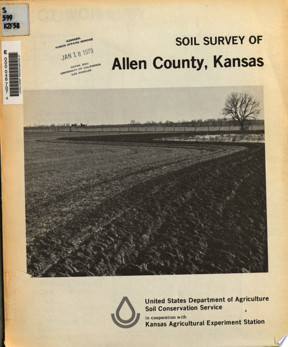 Soil Survey of Allen County, Kansas