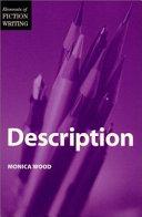 Elements of Fiction Writing   Description Book