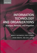 Information Technology and Organizations Book