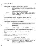 Council Proceedings