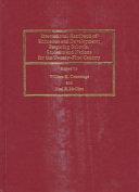 International Handbook of Education and Development