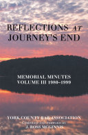 Reflections at Journey's End [Pdf/ePub] eBook