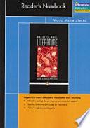 Prentice Hall Literature Penguin Edition World Masterpieces Readers Notebook Grade 12 2007c