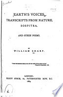Earth s Voices  Transcripts from Nature  Sospitra  and Other Poems Book PDF