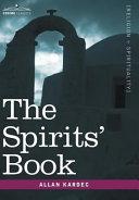 The Spirits' Book Pdf/ePub eBook