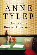 Dinner at the Homesick Restaurant Book