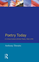 Poetry Today