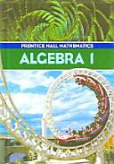 Algebra 1 Book