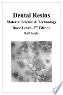 Dental Resins   Material Science   Technology