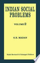 Indian Social Problems  Vol 2