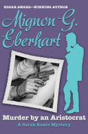 Murder by an Aristocrat Book