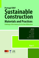 Portugal SB07 Sustainable Construction, Materials and Practices
