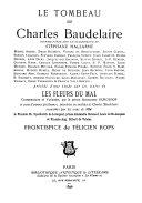 Le Tombeau de Charles Baudelaire