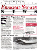 California Emergency Services News