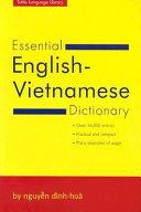 Essential English Vietnamese Dictionary