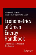 Econometrics of Green Energy Handbook Book