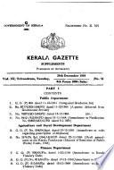 Kerala Gazette