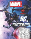 Marvel Vs DC Colouring Book