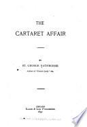 The Cartaret Affair Book