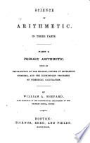 Science of Arithmetic Book