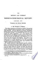 ¬The British and Foreign Medico-chirurgical Review Or Quarterly Journal of Practical Medicine and Surgery