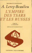 L'Empire Des Tsars Et Les Russes