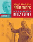Cover of About Teaching Mathematics
