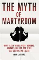 The Myth of Martyrdom Pdf/ePub eBook