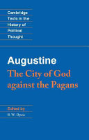 Pdf Augustine: The City of God Against the Pagans