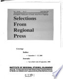 Selections from Regional Press