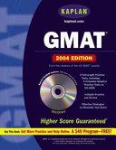 Kaplan GMAT 2004 with CD ROM Book